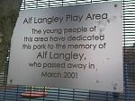 Click image for larger version.  Name:Alf Langley plaque.jpg Views:300 Size:63.8 KB ID:24042