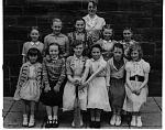 Click image for larger version.  Name:Girls & teachers posed St Peters yard.jpg Views:579 Size:3.30 MB ID:22123